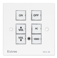 EXTRON FACE PLATE FOR MLC52RSMK